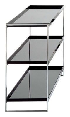 Furniture - Shelves & bookcases - Trays Shelf by Kartell - Black - Chromed steel