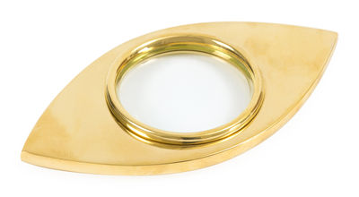 Loupe Brass Laiton Jonathan Adler doré en métal