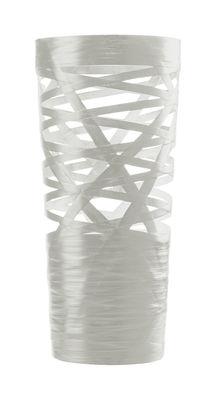 Foto Lampada da tavolo Tress Mini - A 43 cm di Foscarini - Bianco - Materiale plastico