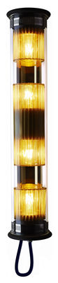 Image of Applique In The Tube 120-700 - / L 72 cm di DCW éditions - Oro,Trasparente - Metallo