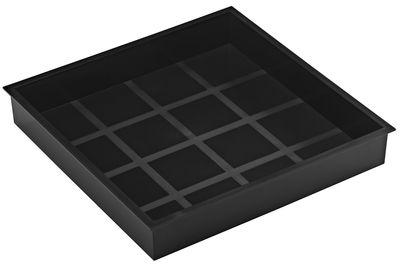 Déco - Salle de bains - Plateau Stack Stack compartiment XL - 32 x 32cm - Authentics - Gris foncé - ABS