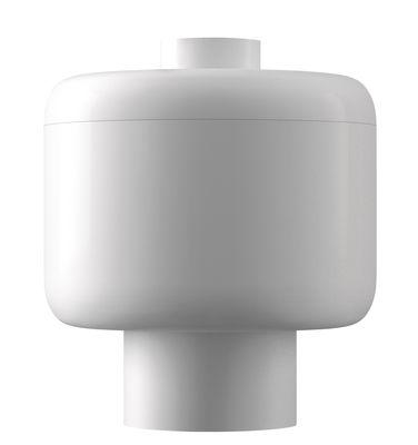 Bougie parfumée Nikko / Kartell Fragrances - H 14 cm - Kartell blanc en matière plastique