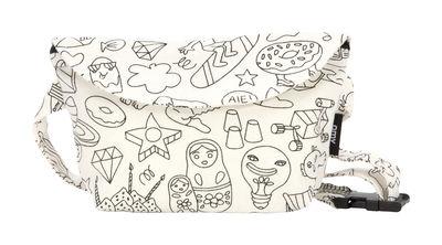 Déco - Pour les enfants - Sac banane à colorier / Coton à customiser - Pour enfant - OMY Design & Play - Banane / Noir & blanc - Coton