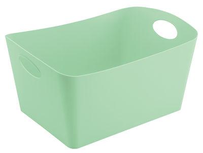 Panier Boxxx L 15 L Koziol vert menthe en matière plastique