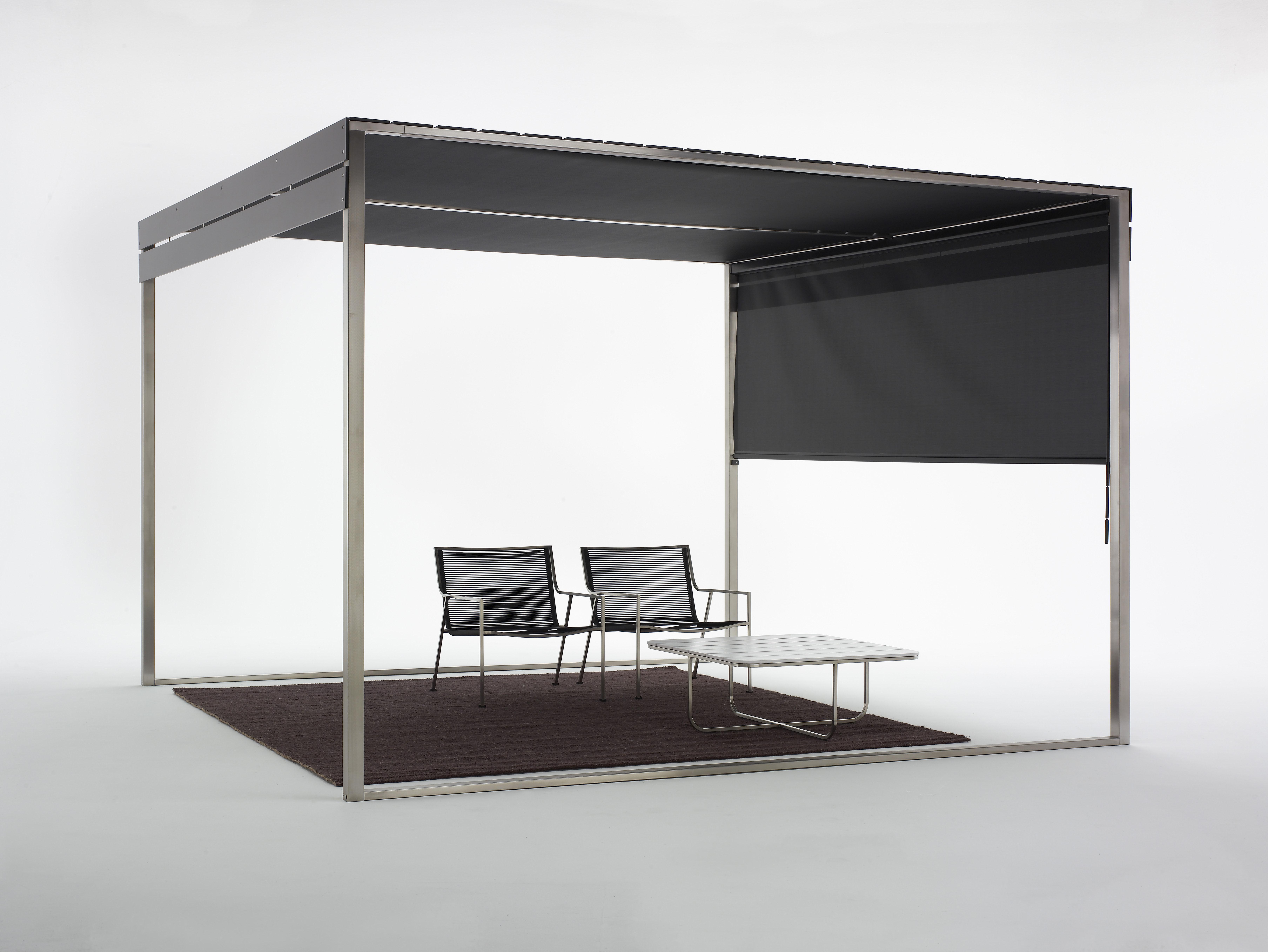rideau pour pergola rideau noir coro. Black Bedroom Furniture Sets. Home Design Ideas