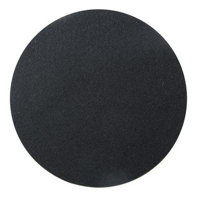 Coussin d'assise Pour tabouret Stool Storage Design Letters noir en tissu