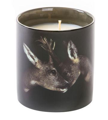 Bougie parfumée Toiletpaper - Cerfs / Porcelaine - Seletti noir en céramique