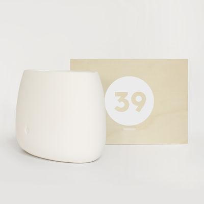 Déco - Vases - Coffret Designerbox#39 / Vase - Louisa Köber - Designerbox - Blanc - Céramique émaillée