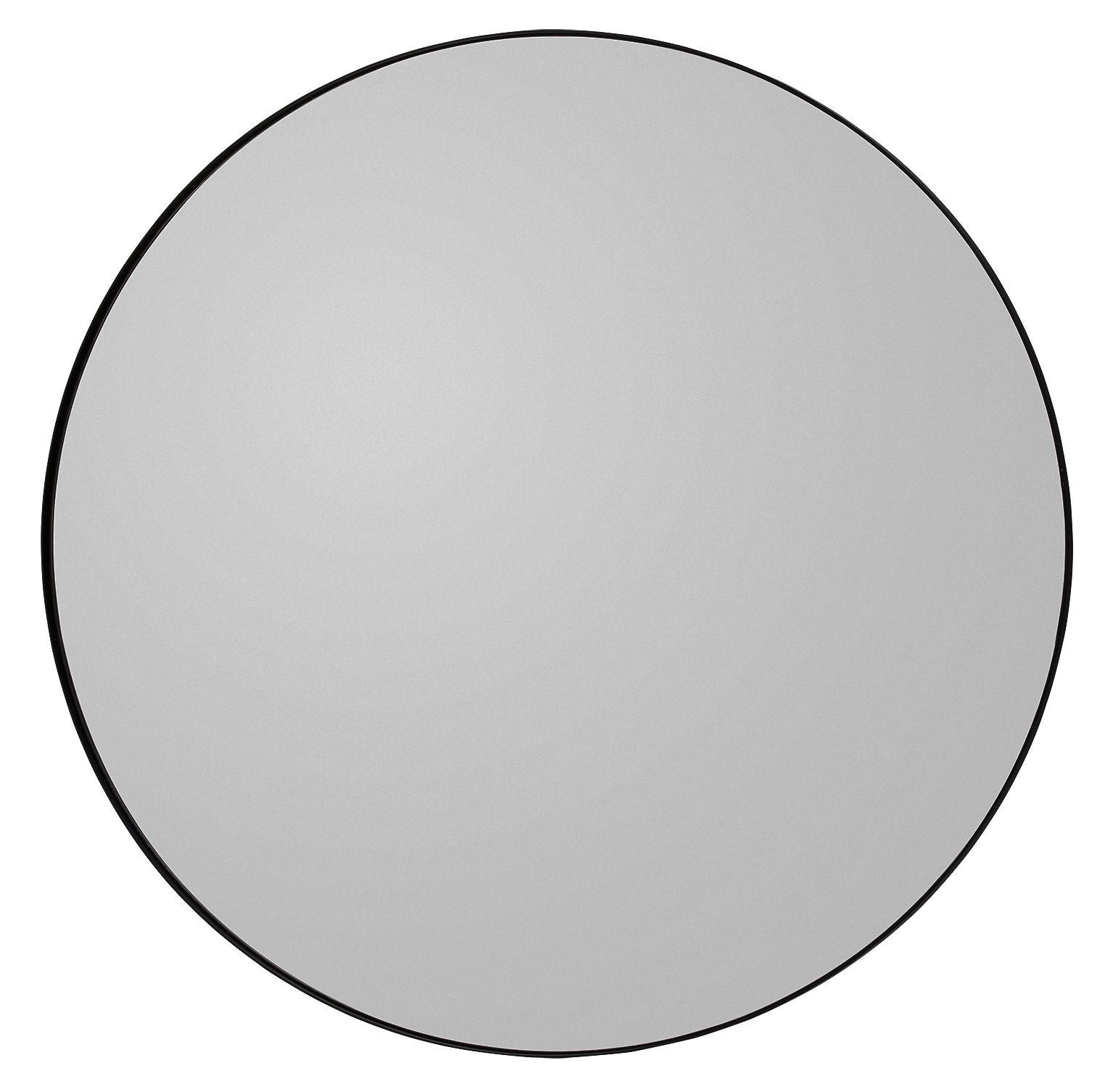 Miroir mural circum large 110 cm gris fum aytm for Miroir 110 50