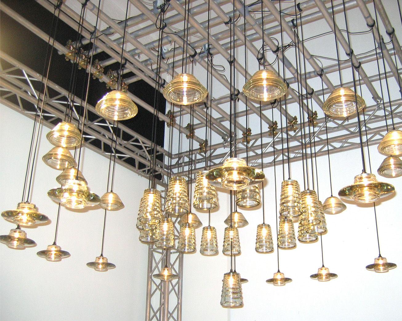 suspension pressed glass bowl transparent tom dixon. Black Bedroom Furniture Sets. Home Design Ideas
