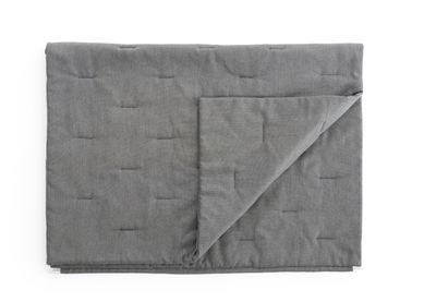 Jardin - Poufs, coussins & tapis d'extérieur - Plaid d'extérieur Walrus / 157 x 105 cm - Extremis - Gris - Tissu Sunbrella natté