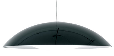 Luminaire - Suspensions - Suspension Neutra - Kartell - Noir - PMMA