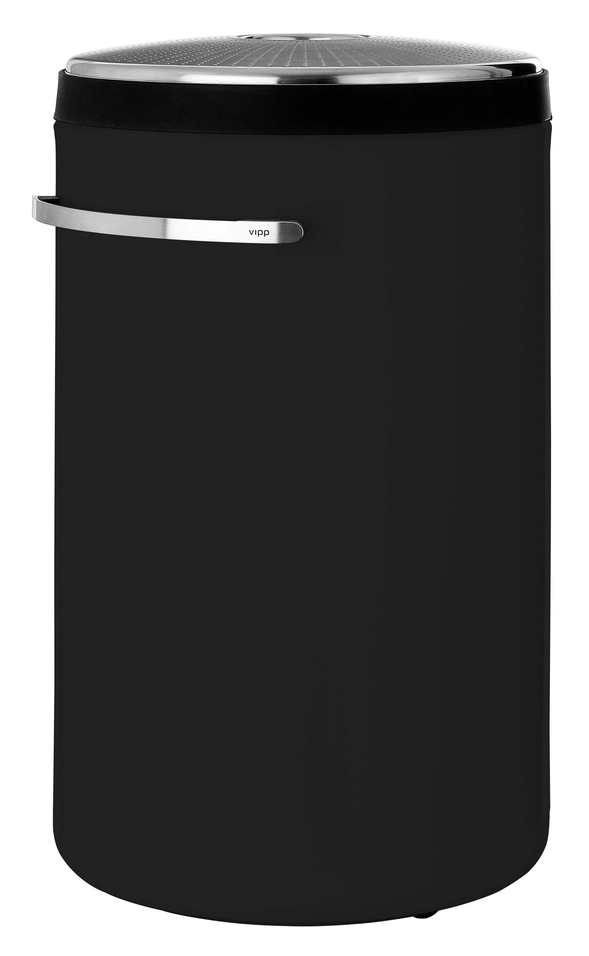 Vipp441 Laundry basket Black by Vipp | Made In Design UK