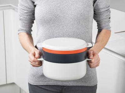 Cuiseur micro ondes m cuisine 4 l ments empilables - Ustensile de cuisine joseph joseph design ...