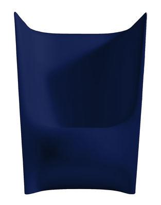 Poltrona Plié di Driade - Blu - Materiale plastico