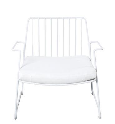Fish & Fish Lounge Sessel / mit Sitzkissen - Serax - Weiß