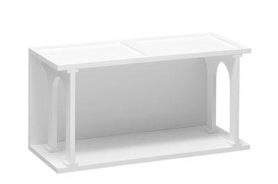 Mobilier - Etagères & bibliothèques - Etagère Renaissance / 40 x 80 cm - Seletti - Blanc mat - MDF