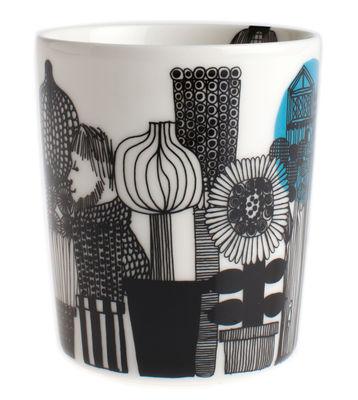 Mug Siirtolapuutarha / Sans anse - Marimekko blanc,noir,vert en céramique