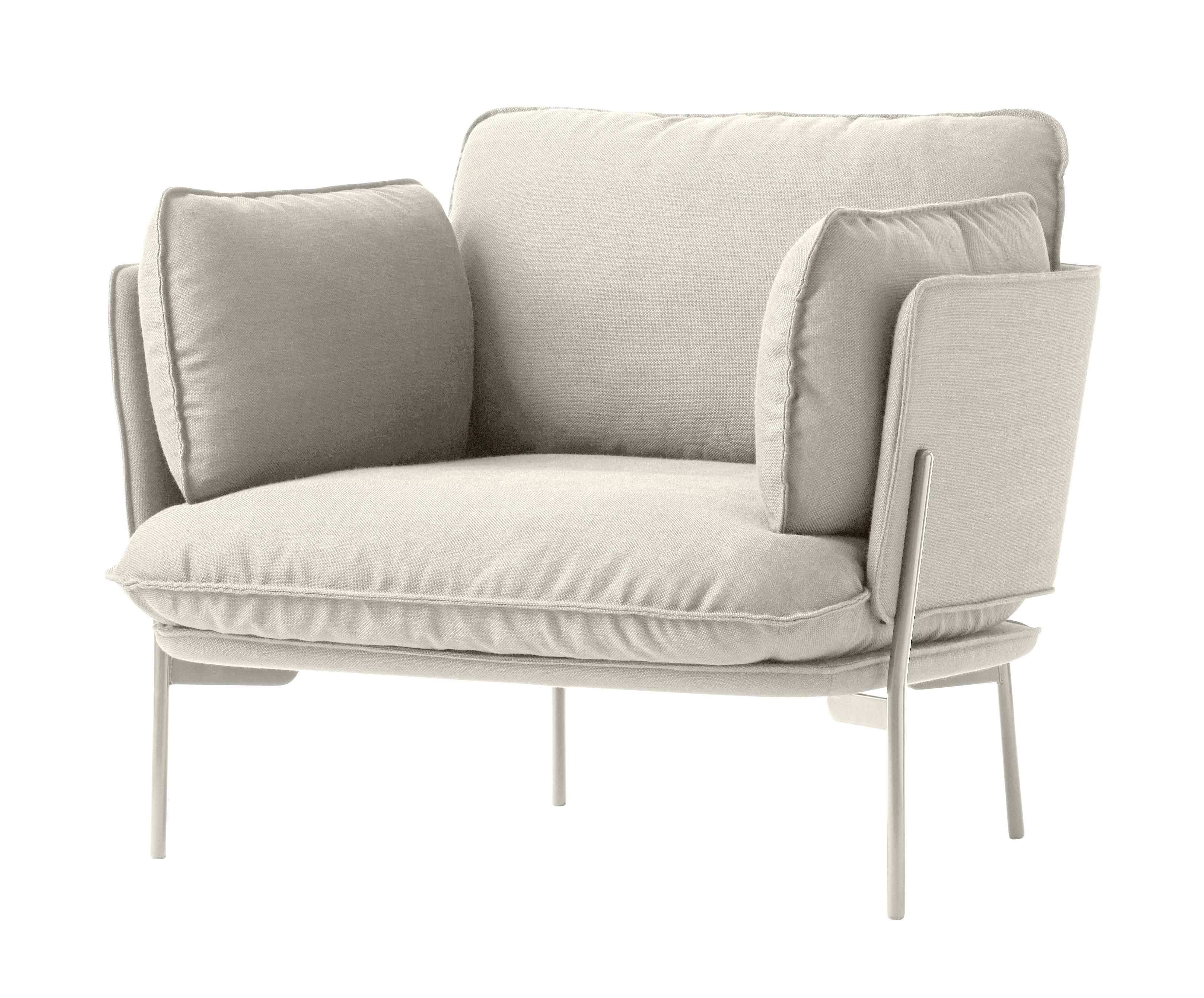 Cloud LN1 Armchair Ivory by &tradition