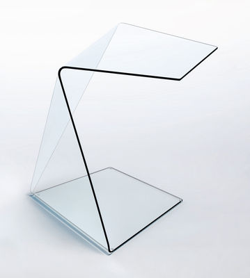 Furniture - Coffee Tables - Harold et Maude Coffee table - Model 2 by Glas Italia - Transparent - Tempered glass