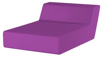 Chauffeuse Matrass Seat 75 - Quinze & Milan violet en matière plastique