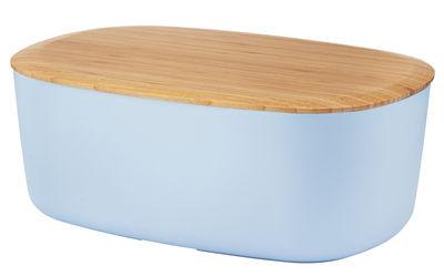 Foto Portapane / Coperchio-tagliere - Stelton - Blu,Legno naturale - Materiale plastico