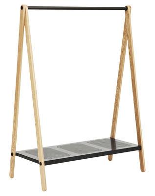Portant Toj grand modèle - Normann Copenhagen gris en bois