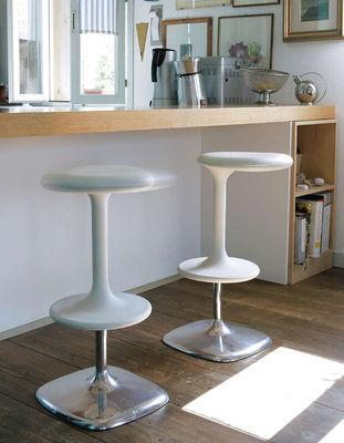 Kant Adjustable bar stool - Pivoting / H 65 à 76 cm Black ...
