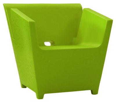 Poltrona Raffy di Qui est Paul ? - Verde - Materiale plastico