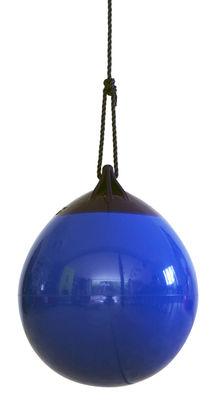 Jardin - Déco et accessoires - Balançoire Ball - FAB design - Bleu baleine - Polyester, PVC