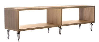 Bassotti Regal / Sideboard - L 180 cm x H 52 cm - Moooi - Eiche gebleicht