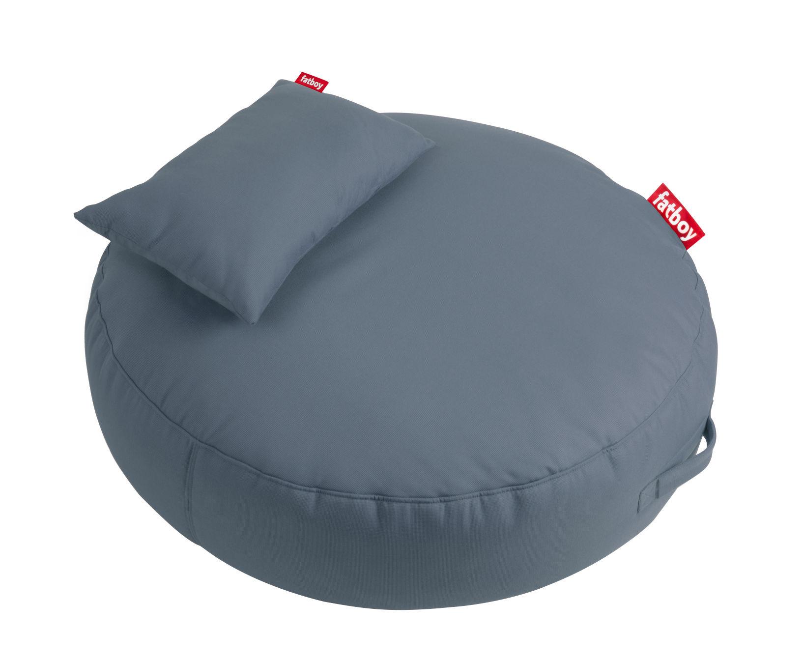 pupillow sitzkissen mit kissen 120 cm stahlblau by fatboy made in design. Black Bedroom Furniture Sets. Home Design Ideas