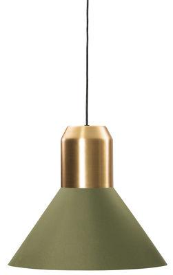 Suspension Bell Light / Ø 45 x H 40 cm - ClassiCon vert,laiton en métal
