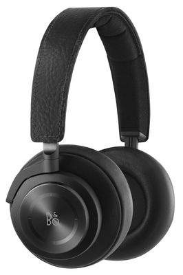 Casque audio BeoPlay H7 Bluetooth Cuir véritable B O PLAY by Bang Olufsen noir en métal