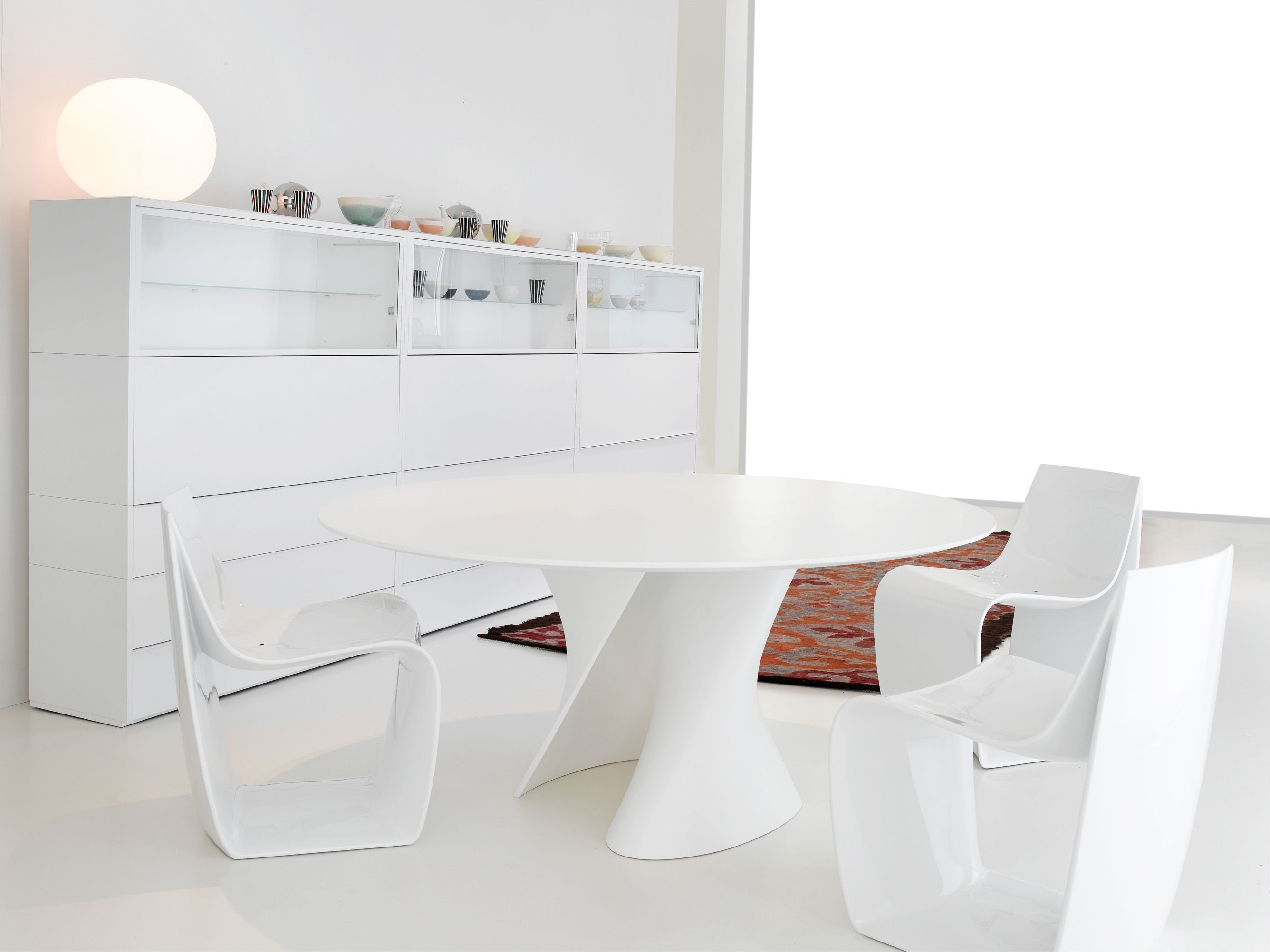 S table oval 210 x 150 cm mdf italia tisch for Tisch design oval