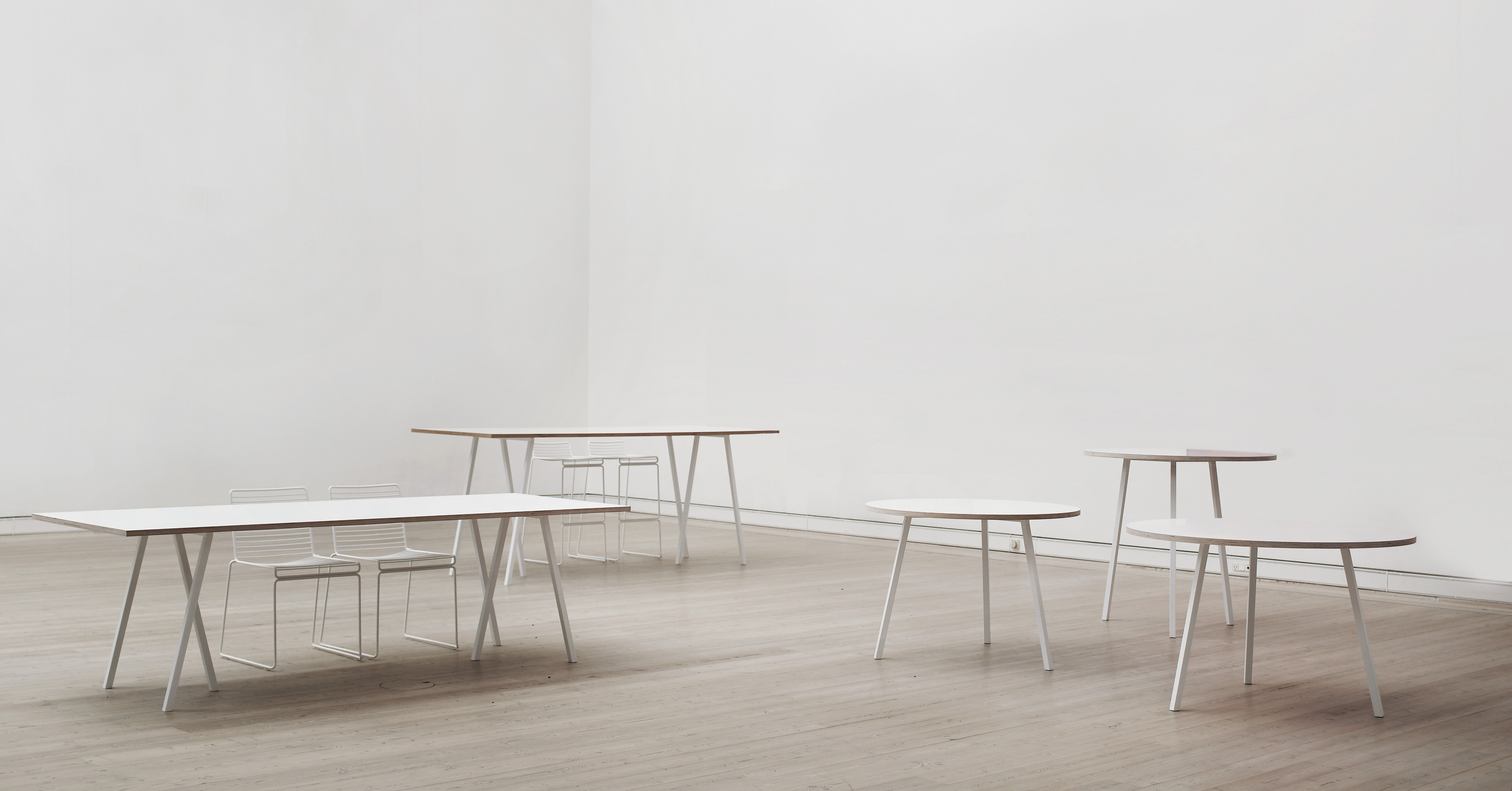 loop b 200 cm hay tisch. Black Bedroom Furniture Sets. Home Design Ideas