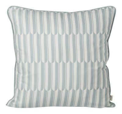 Coussin Arch / 50 x 50 cm - Ferm Living blanc cassé,bleu clair en tissu