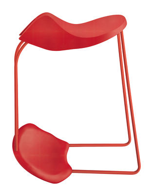 tabouret dinamica h 60 cm plastique rouge alias. Black Bedroom Furniture Sets. Home Design Ideas