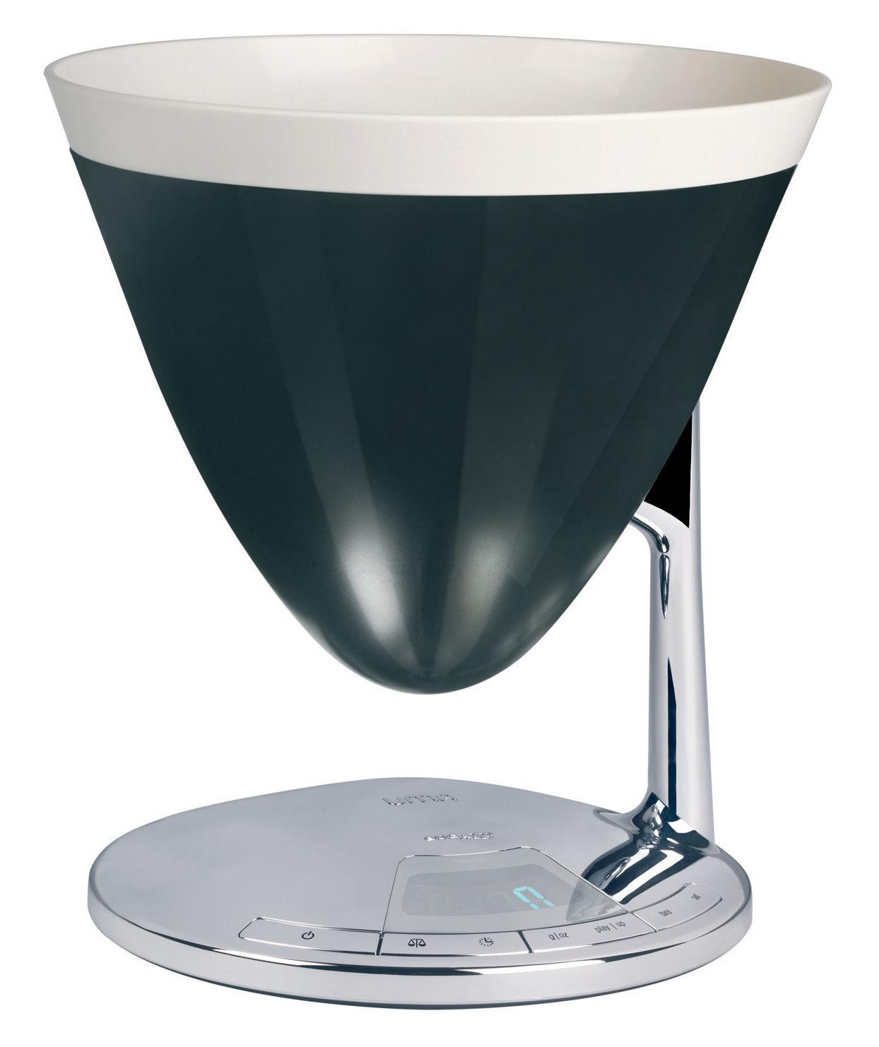 balance de cuisine lectronique uma minuteur noir bugatti. Black Bedroom Furniture Sets. Home Design Ideas