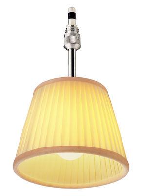 Illuminazione - Lampadari - Sospensione Romeo Babe Soft di Flos - Tessuto avorio - Tessuto