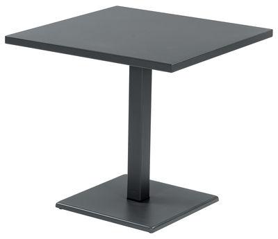 tavolo da giardino Round - 81 x 80 cm di Emu - Ferro antico - Metallo