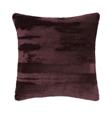 Coussin Soft / Velours - 45 x 45 cm - Tom Dixon bordeaux en tissu