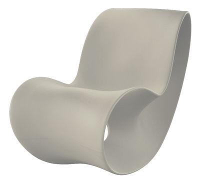 Foto Rocking chair Voido di Magis - Grigio - Materiale plastico