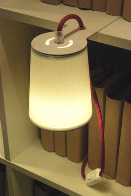 Light book lamp library lamp white by designheure for Design table lamp giffy 17 7