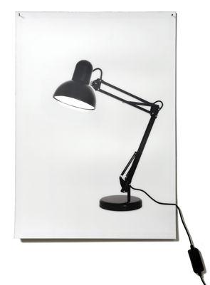 Luminaire - Appliques - Applique avec prise Flat Life - Areaware - Pop Corn - Blanc / Noir - Polyéthylène