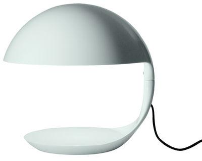 Luminaire - Lampes de table - Lampe de table Cobra / 1968 - Martinelli Luce - Blanc - Résine