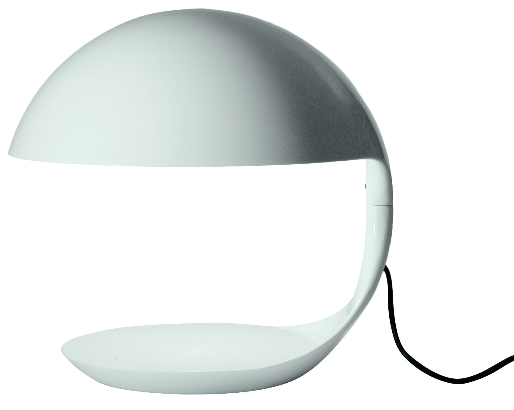 Cobra table lamp white by martinelli luce for Design table lamp giffy 17 7