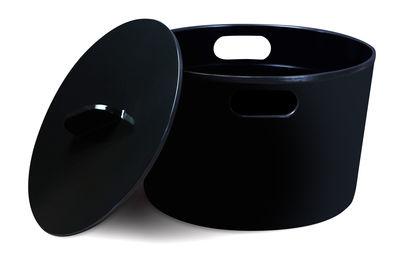 Cocotte Eve 8 L Avec couvercle Tous feux dont induction Cookut noir en métal