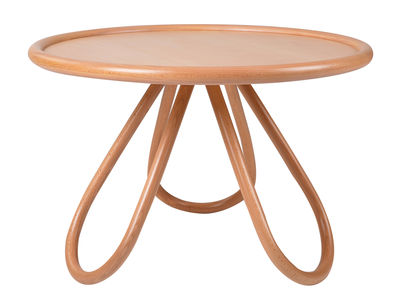 Table basse Arch / Ø 73 cm - Wiener GTV Design bois naturel en bois