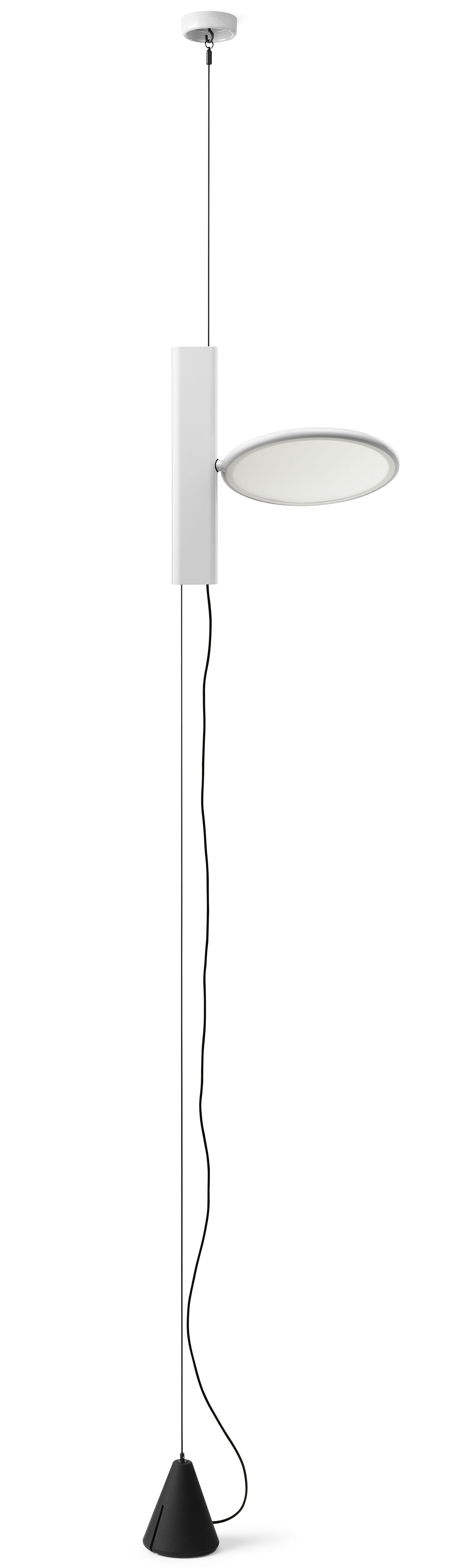 lampe ok suspendre au plafond led blanc flos. Black Bedroom Furniture Sets. Home Design Ideas